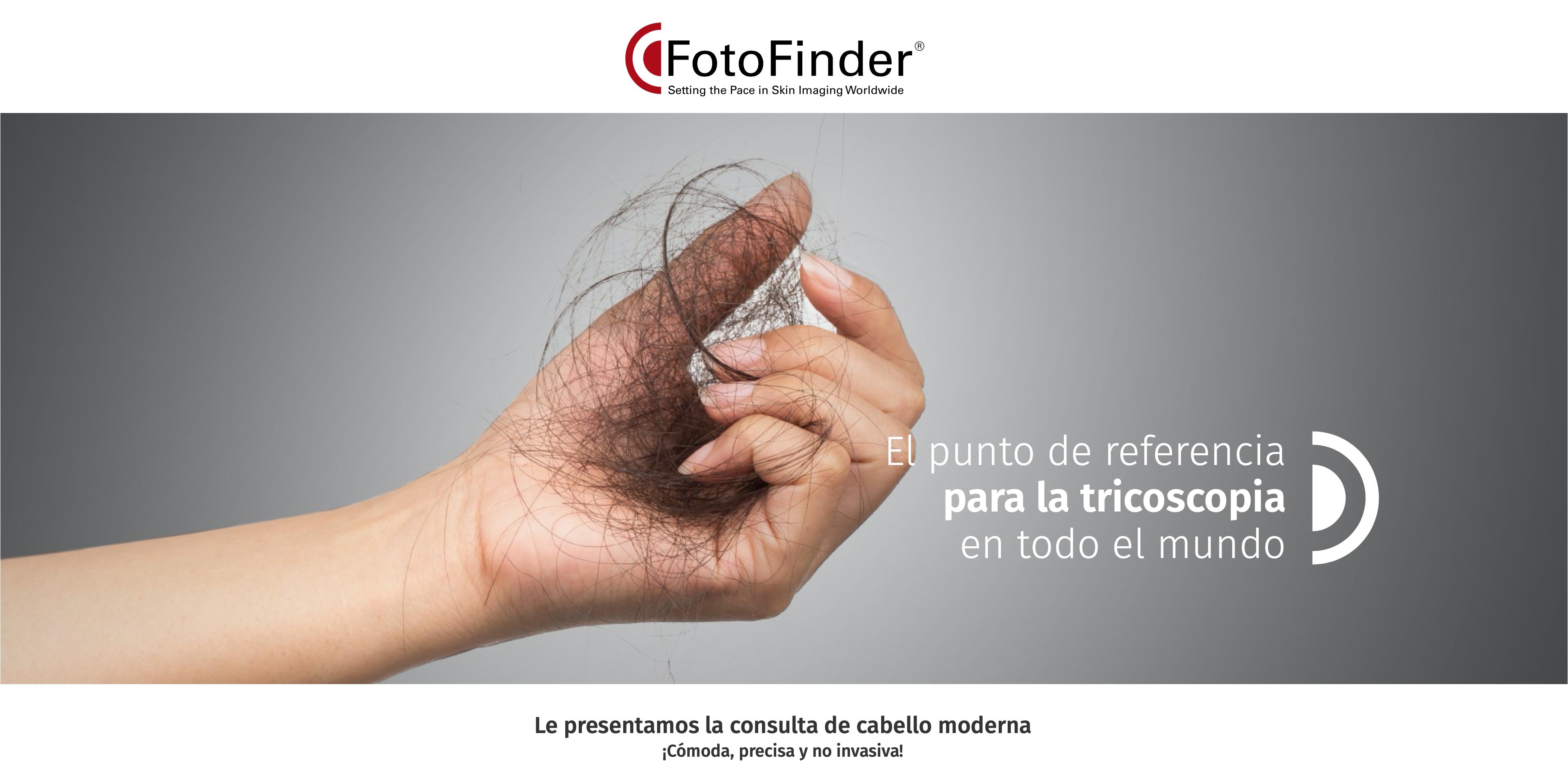 FotoFinder para análisis capilar