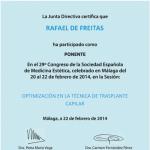 CONGRESO DE LA SOCIEDAD ESPANOLA DE MEDICINA ESTETICA MALAGA