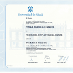 TITULO PROPIO DE EXPERTO TRICOLOGIA E IMPLANTOLOGIA CAPILAR